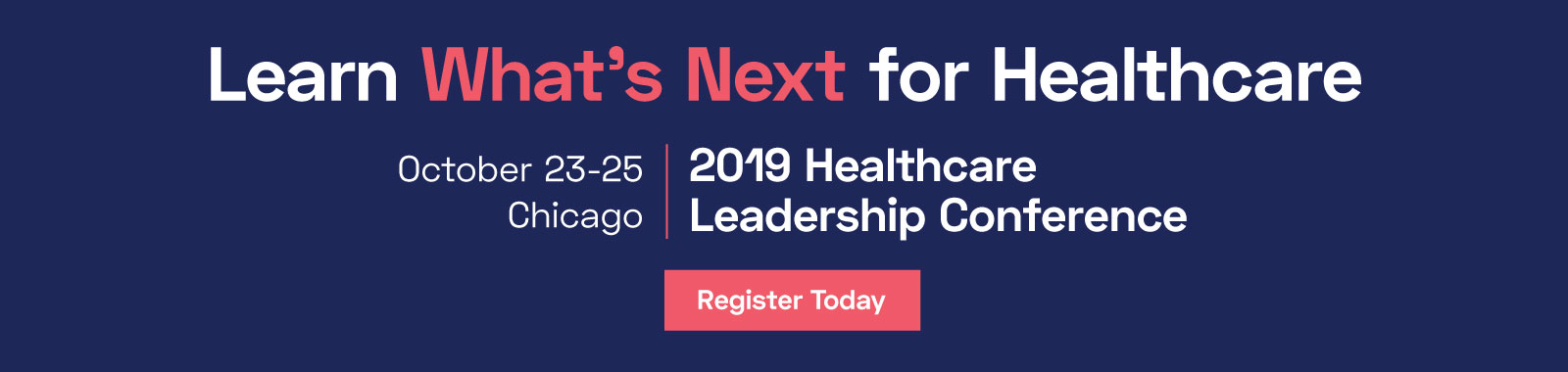 join us for healthcare leadership conference
