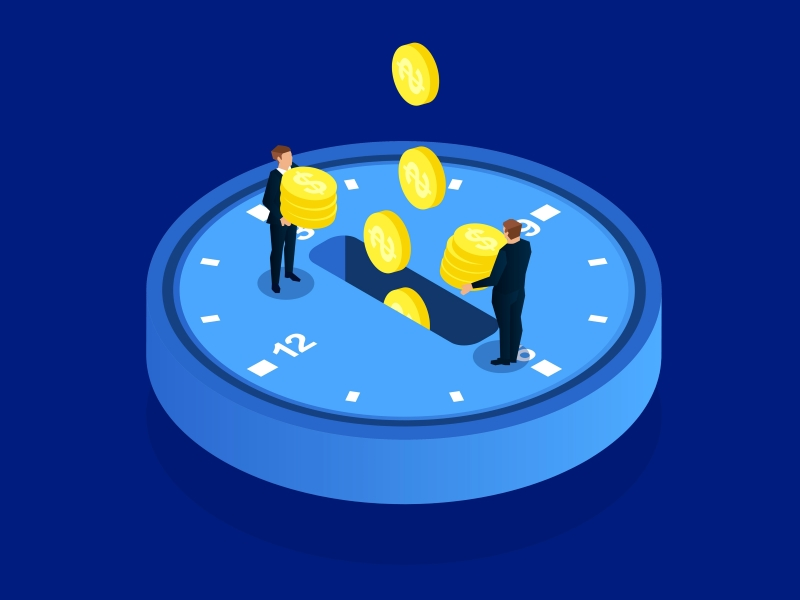 Illustration of time investment