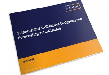 5 Approaches to Effective Budgeting in Healthcare thumbnail