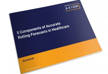 5 Components of Accurate Rolling Forecasts in Healthcare eBook thumbnail