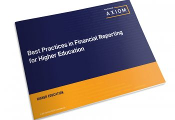Best Practices in Financial Reporting for Higher Education thumbnail