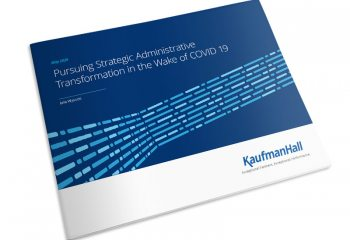 Pursuing Strategic Administrative Transformation in the Wake of COVID-19 ebook thumbnail