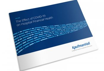 Report cover thumbnail: The Effect of COVID19 on Hospital Financial Health
