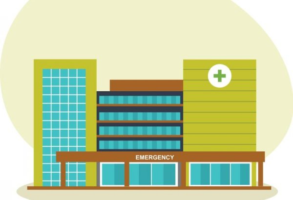 Academic medical center illustration