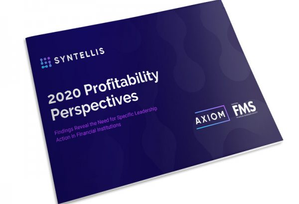 2020 Profitability Perspectives for Financial Institutions