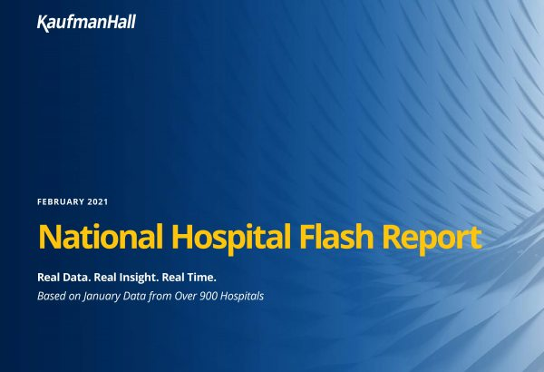February 2021 National Hospital Flash Report Cover