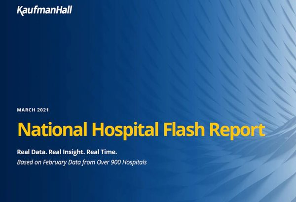 March 2021 National Hospital Flash Report Cover