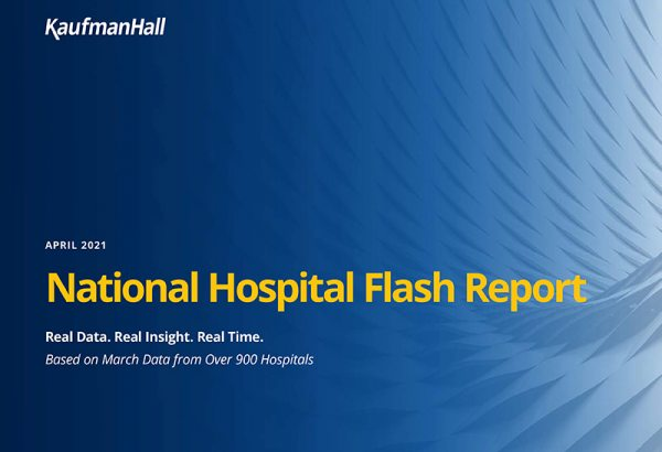 April 2021 National Hospital Flash Report Cover