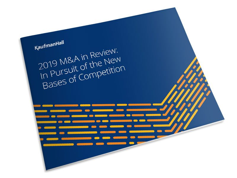 2019 Healthcare M&A Report cover thumbnail